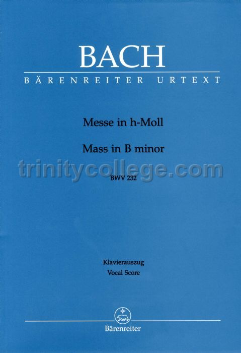 Bach's Mass in B minor: An Analytical Study of Parody ...