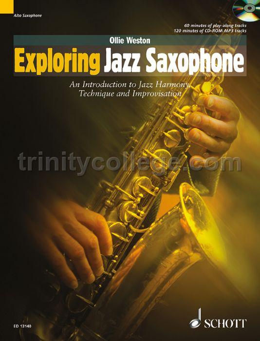 Weston Ollie Exploring Jazz Saxophone Cd