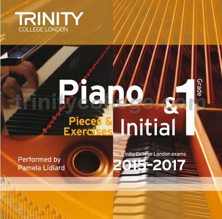 Piano Exam Pieces & Exercises 2015-2017, Initial & Grade 1 (CD ...