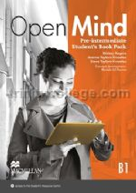 Open Mind Pre-Intermediate Student's Book Pack (B1)