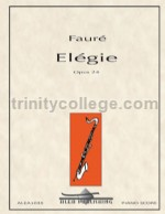 Elégie for bass clarinet & piano