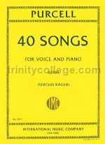 40 Songs (Low Voice/Piano)