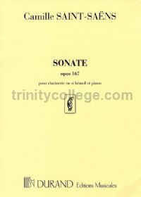 Sonata Op. 167 - clarinet (Bb) & piano