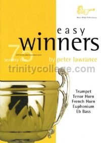 Easy Winners for Trumpet, Horn, Euphonium & Eb Bass (Book only)