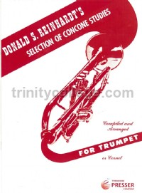 Selection of Concone Studies for Trumpet