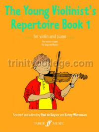 The Young Violinist's Repertoire, Book I (Violin & Piano)