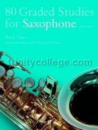 80 Graded Studies for Saxophone, Book II