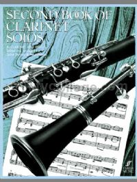 Second Book of Clarinet Solos (Clarinet & Piano)