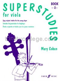Superstudies for Viola, Book II