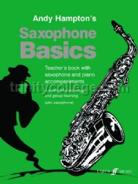 Saxophone Basics - Teacher's Book (Alto Saxophone)