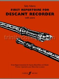 First Repertoire for Descant Recorder (Descant Recorder & Piano)