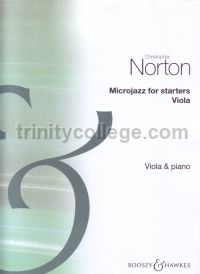 Microjazz for Starters - Viola and Piano