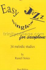 Easy Jazz Singles For Saxophone Solo