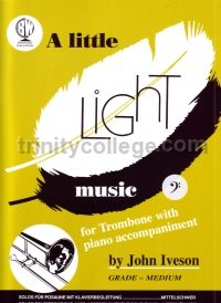 A Little Light Music for trombone (bass clef)