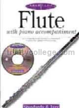 Solo Plus Standards & Jazz Flute (Book & CD)