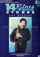 14 Blues & Funk Etudes: Bb Instruments (Book & 2 CDs)