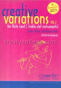 Creative Variations for Flute vol.2 (Book & CD)