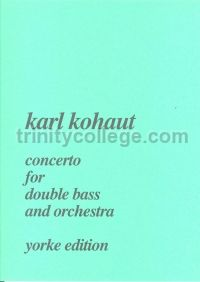 Concerto for Double Bass - double bass & piano reduction