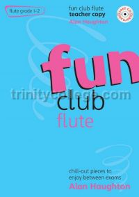 Fun Club Flute Grade 1-2 Teacher (Book & CD)