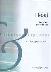 Ave Maria in Cmin for High Voice & Piano