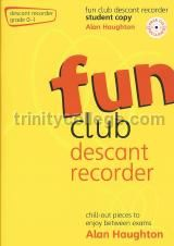 Fun Club Descant Recorder Grade 0-1 Student (Book & CD)