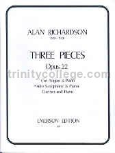 3 Pieces Op. 22 for Alto Saxophone & Piano