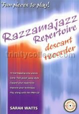 Razzamajazz Repertoire for Descant Recorder (+ CD)