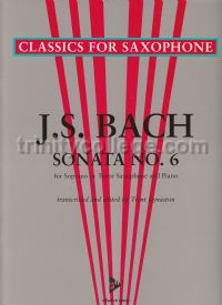 Sonata No. 6 in A major for Bb saxophone & piano
