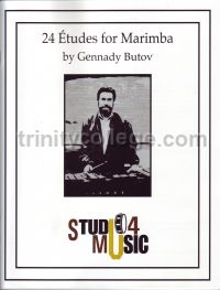 24 Etudes For Marimba