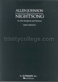 Nightsong (for alto saxophone & piano)