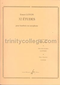 32 Etudes for Solo Oboe or Saxophone