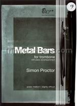 Metal Bars for trombone & piano (bass clef)