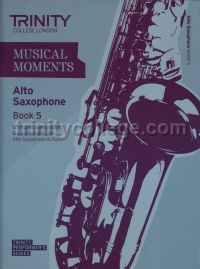 Musical Moments Alto Saxophone Book 5 - Score & Part