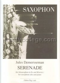 Serenade Op. 33 for alto saxophone and piano