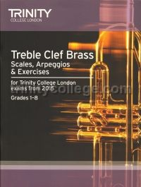 Treble Clef Brass Scales & Exercises from 2015