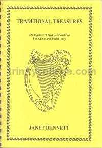 Traditional Treasures for celtic & pedal harp