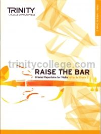 Raise the Bar Violin (Book 1) Initial - Grade 2