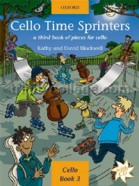 Cello Time Sprinters: A third book of pieces for cello (Bk & CD)