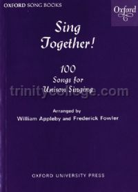 Sing Together Melody (Solo or Unison) Edition