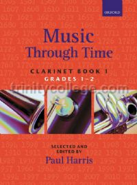 Music Through Time Clarinet Book 1 (Grades 1-2)