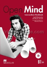 Open Mind Intermediate Workbook with CD (without Key) (B1+)
