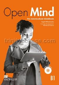 Open Mind Pre-intermediate Workbook with CD (without Key) (B1)
