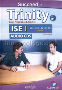 Succeed in Trinity ISE I CEFR B1 Listening and Speaking Class Audio CD