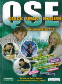 QSE Quick Smart English Pre-intermediate Student's Book with 2 CDs New Edition (A2-B1)