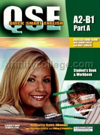 QSE Quick Smart English Pre-intermediate Part A Student's Book and Workbook New Edition (A2-B1)