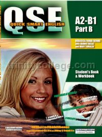 QSE Quick Smart English Pre-intermediate Part B Student's Book and Workbook New Edition (A2-B1)