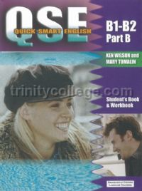 QSE Quick Smart English Intermediate Part B Student's Book and Workbook (B1-B2)