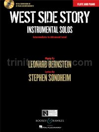 West Side Story Instrumental Solos: Flute (Book & CD)