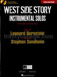 West Side Story Instrumental Solos: Violin (Book & CD)