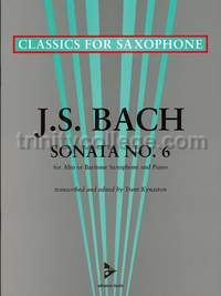 Sonata No. 6 in A major for Eb saxophone & piano